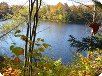 Lakefront Land for Sale - Domaine Mont-Orford